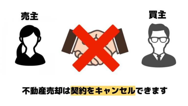 不動産売却は契約をキャンセルできる